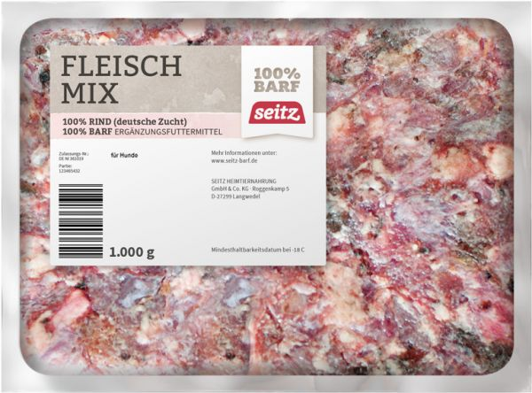 SEITZ_BARF_Fleischmix_1kg